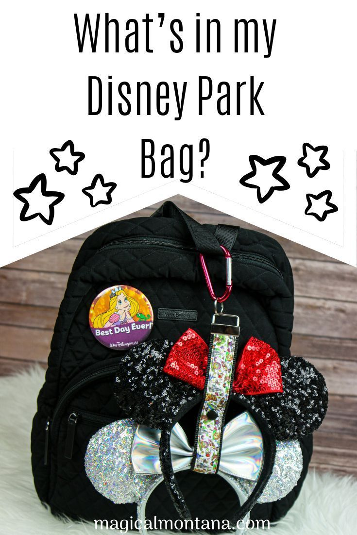 How to Pack the Perfect Disney Park Bag!