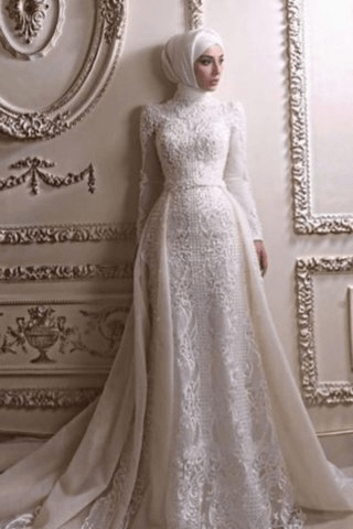 The Best 2021 Hijab Wedding Dress Ideas for the Fashionable Bride