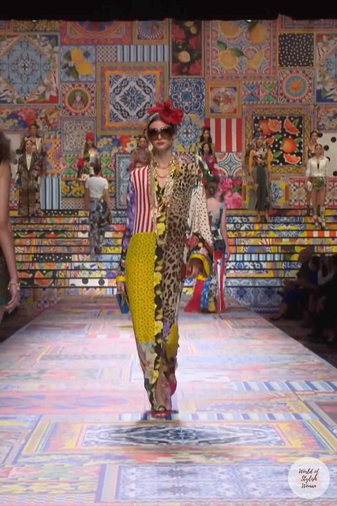 DOLCE & GABBANA | Look 21 | Spring Summer 2021 Ready-to-Wear Women's Collection
