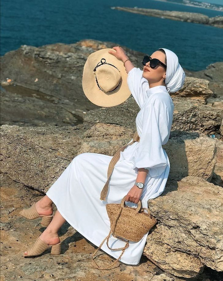 Hijab with Hats Styles-18 Modest Ways to Wear Caps with Hijab