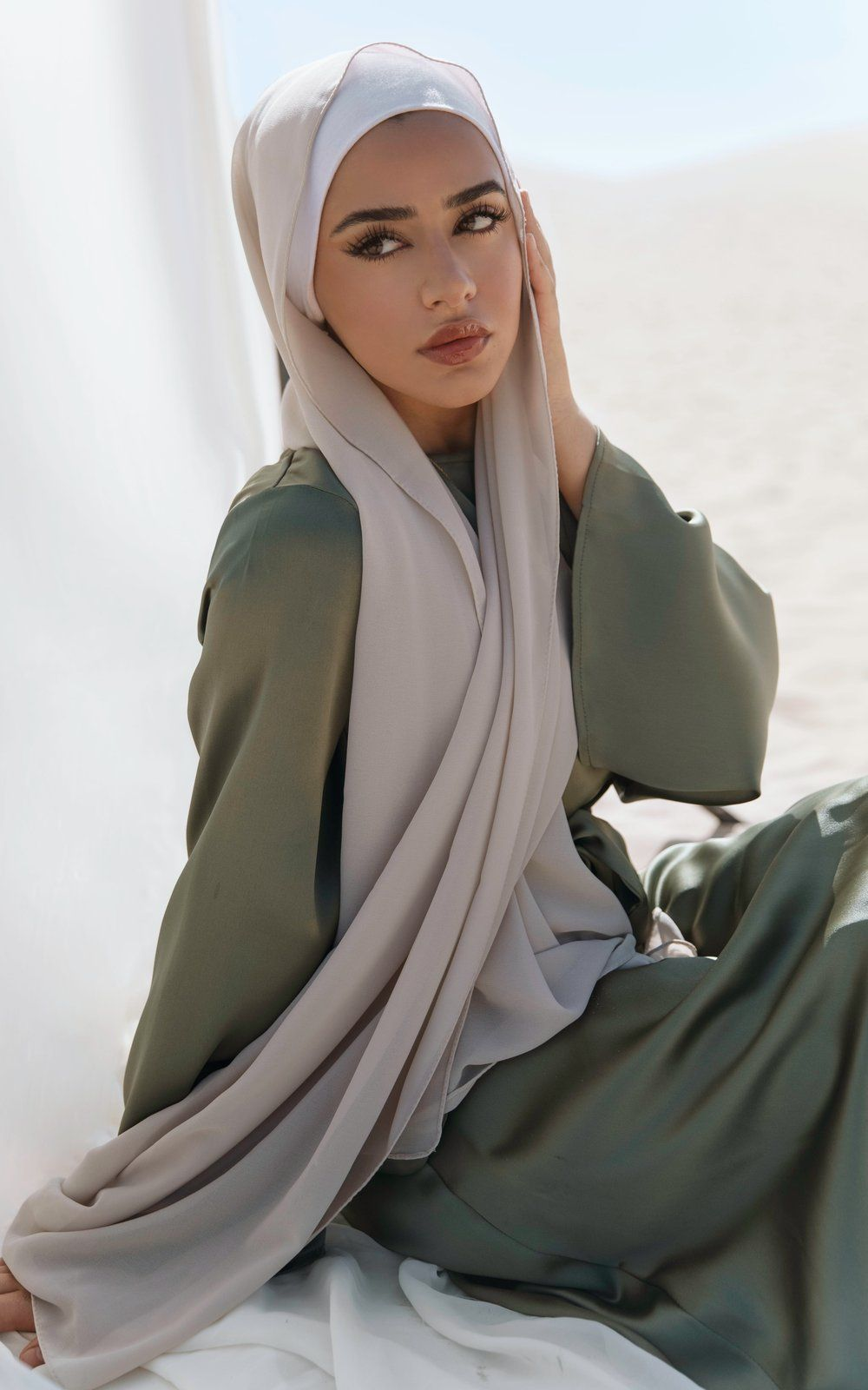 Modern Chiffon Hijab Scarves From Culture Hijab Co. - Ships from the US
