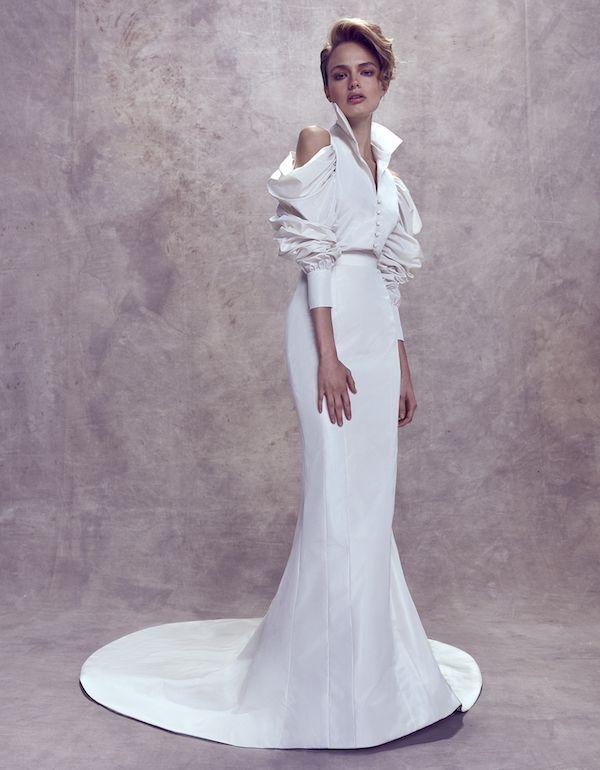 Couture Wedding Dresses by Ashi Studio | FW 2017 - Perfete