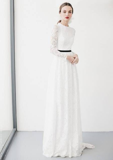 Si vas a lucir un segundo vestido el día de tu boda, que sea uno de estos