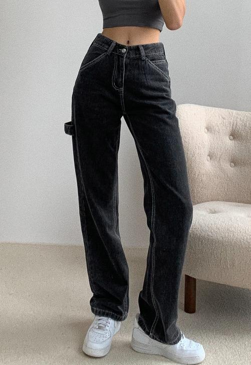 Black Carpenter Jeans