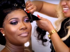 Makeup Transformation & Bridal Hair For Dark Skin (Must Watch)
