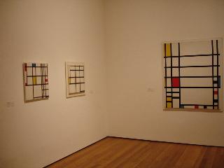 Piet Mondriaan at MoMa