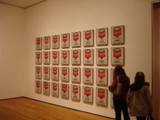 Warhol at Moma