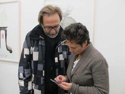 Hillegon Brunt en Elbert Mulder @ Iris Cornelis