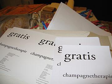 De donderdaaglijkse champagnetherapie: topoverleg