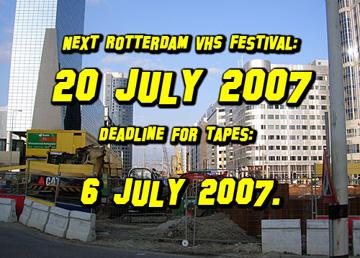 Rotterdam VHS Festival #13