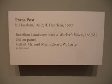 hollandse meester en voorouder van @ LA county museum