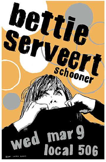 Casey Burns Bettie Serveert poster