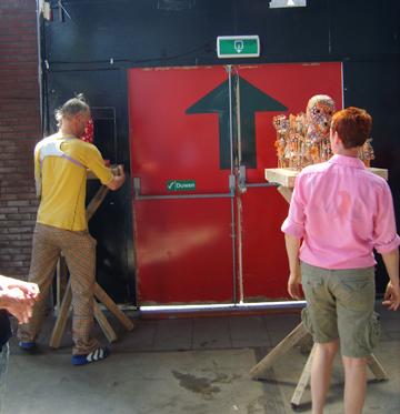 Pieter W Postma en Ate M Hes @ Tijdelijk Museum Amsterdam