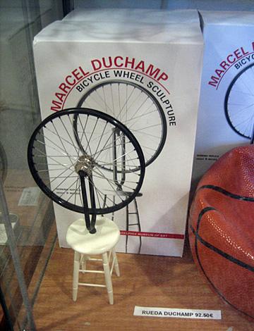 het wiel van Duchamp