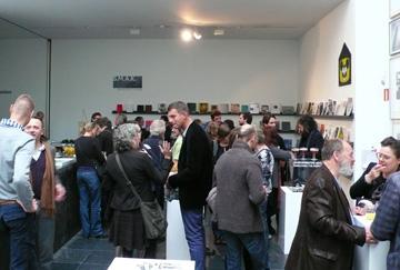 Boekpresentatie Eric Jan van de Geer in S.M.A.K. en de nieuwe ruimte van Galerie Tatjana Pieters