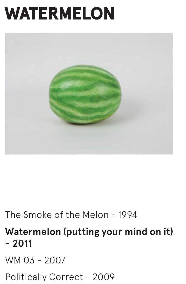 WATERMELON - Watermelon (putting your mind on it) - 2011