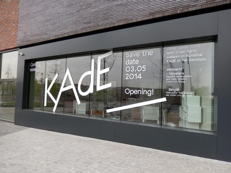 Kunsthal Kade sneak peek