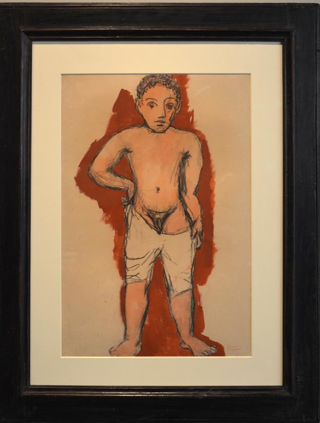 DSC_0167 Picasso tekening 3,5 miljoen dollar of pond