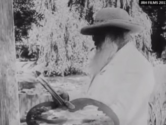 Rodin, Renoir en Monet aan het werk