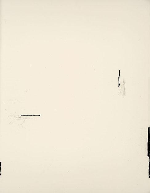 436 - Arjan Janssen - Zonder titel - 2015 - juni 2015 (2) - 73 x 56 cm - Siberisch krijt op papier
