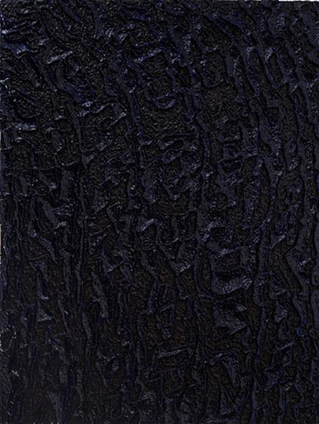 Bruce Pearson Further Still, 2008 oil and acrylic on styrofoam 60 x 48 photo: Hermann Feldhaus Courtesy Ronald Feldman Fine Arts, New York