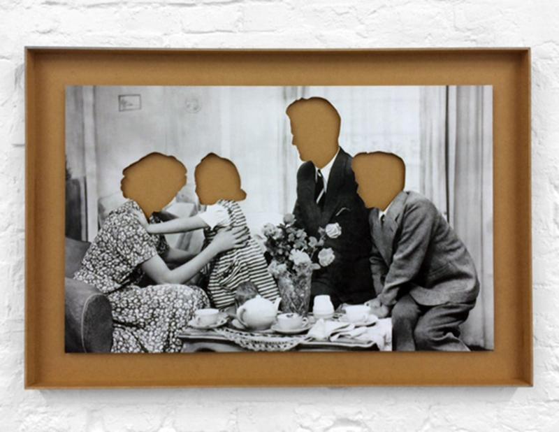 Hans Peter Feldmann in galerie Block C, Groningen