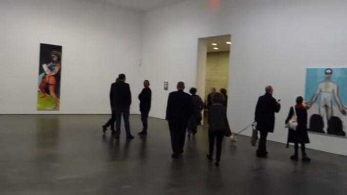 James Kalm op bezoek bij Marlene Dumas @ David Zwirner