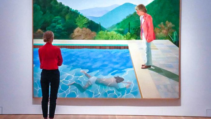 David Hockney @ Bad at Sports