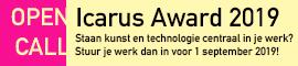 Icarus Award 2019 banner september