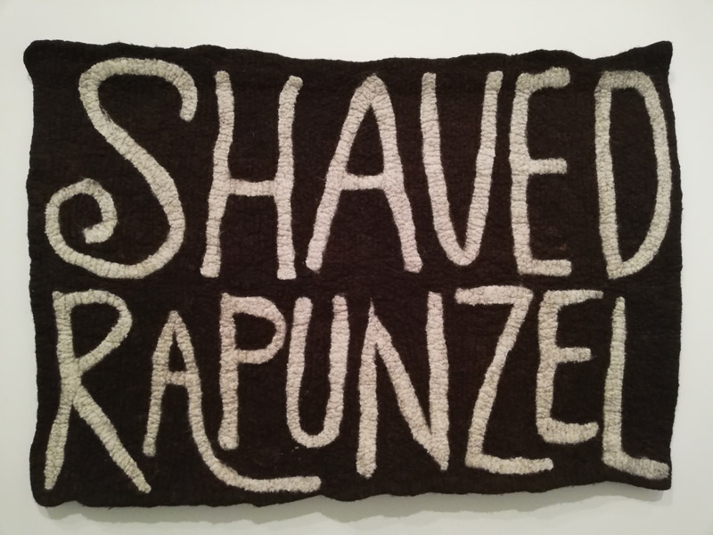 Wintrum, Orla Barry Shaved Rapunzel, wol, 2011