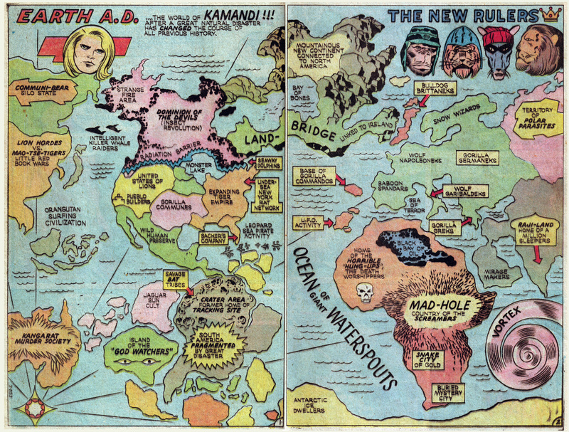 Comic Book Cartography