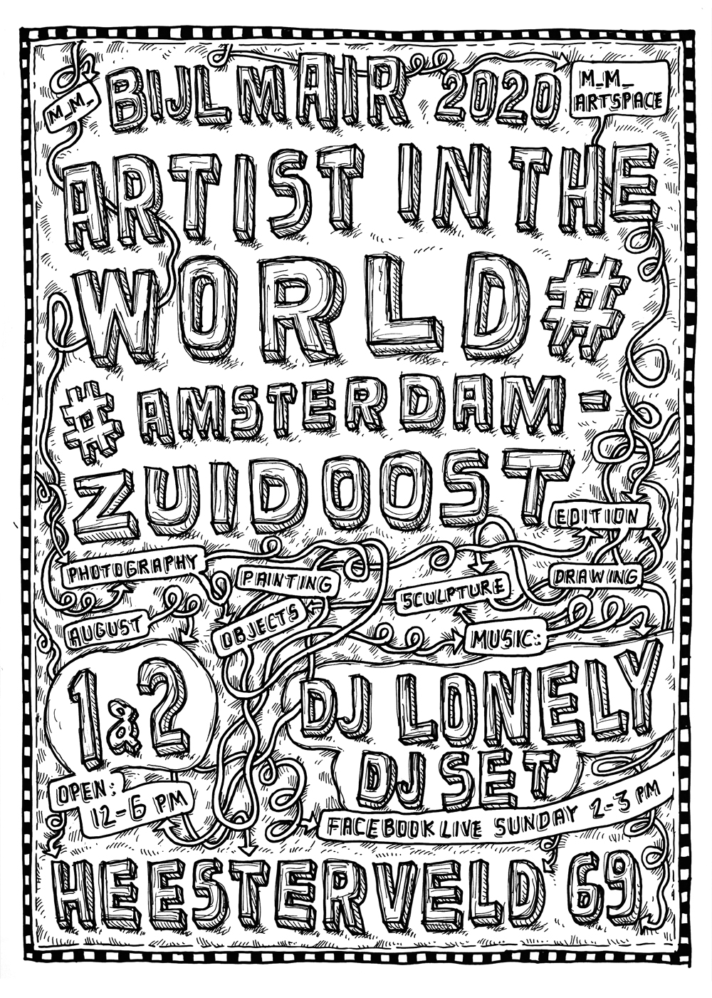 Artist in the World: Amsterdam Zuidoost editie