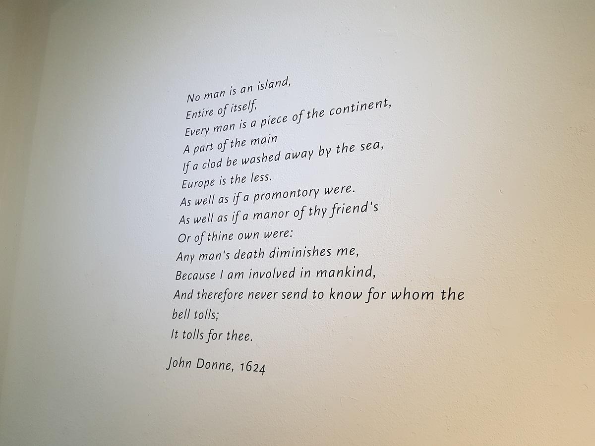 Empathie | Geen mens is een eiland @ Museum IJsselstein