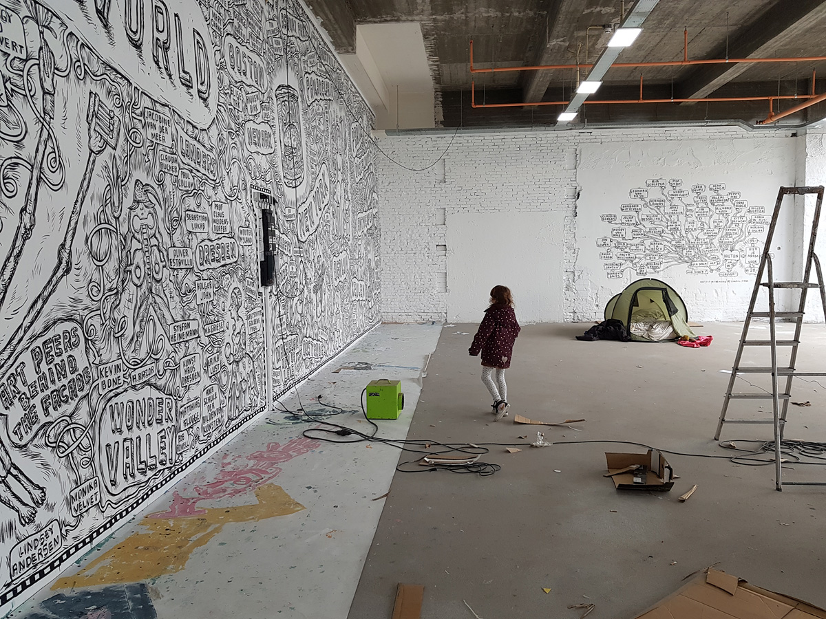André Smits & Monika Dahlberg @ Hilton Art Lab