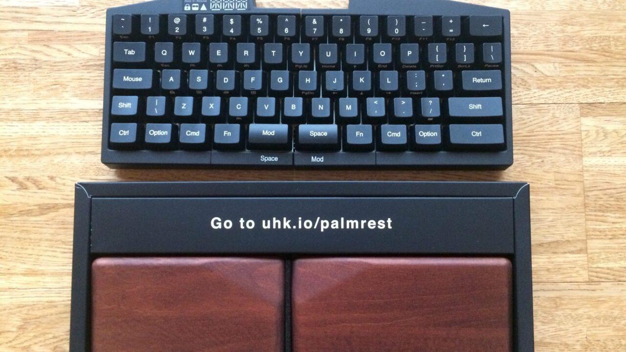 ultimate hacking keyboard ausprobiert