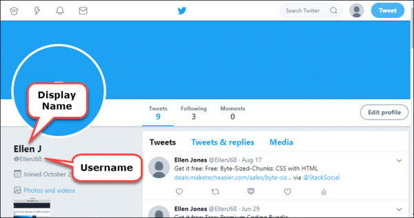 How To Change Your Twitter Username & Display Name In ...