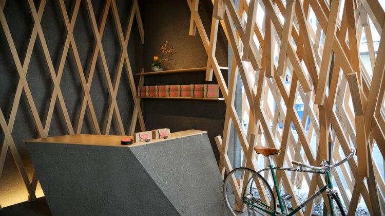 6x een fiets in de winkel