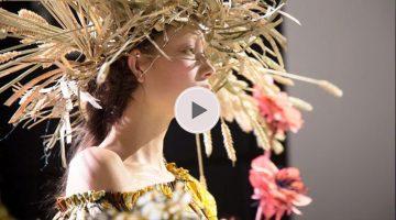 Viktor Rolf Van gogh Couture show | Trendbubbles.nl