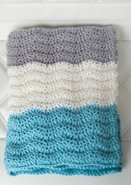 Chevron Baby Blanket Crochet Pattern 12 Free And Cute Ba Blanket Crochet Patterns