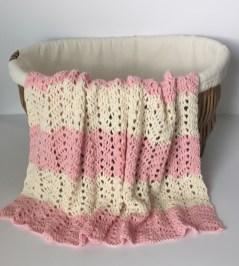 Chevron Baby Blanket Crochet Pattern Crochet Pattern Peek A Boo Chevron Ba Blanket