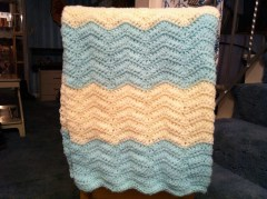 Chevron Baby Blanket Crochet Pattern Design Adventures Chevron Ba Blanket And A Headache