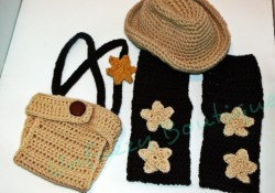 Crochet Baby Cowboy Hat And Boots Pattern Free Cowboy Set Busting Stitches