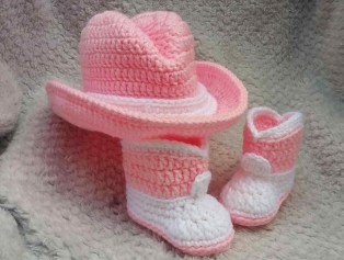 Crochet Baby Cowboy Hat And Boots Pattern Free Free Crochet Cowboy Hat And Boots Pattern Willyvossen