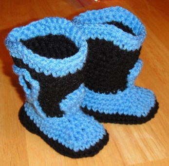 Crochet Baby Cowboy Hat And Boots Pattern Free Free Crochet Pattern For Ba Cowboy Boots And Hat Modern Clothing