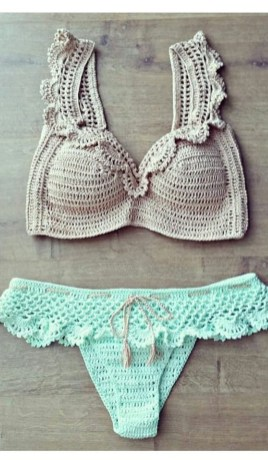 Crochet Bikini Top Pattern 43 Modern Crochet Bikini And Swimwear Pattern Ideas For Summer 2019