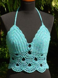 Crochet Bikini Top Pattern Bikini Crochet Pattern Awesome Women Crochet Bikini Y Backless