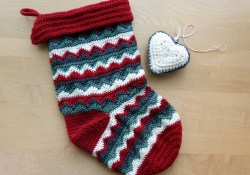 Crochet Christmas Patterns Christmas Stocking Make My Day Creative