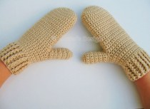 Crochet Mitten Patterns Crochet Pattern 105 Crochet Mitten Pattern Alenasdesign On Zibbet
