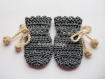 Crochet Mitten Patterns Crochet Pattern 115 Crochet Mitten Pattern Alenasdesign On Zibbet