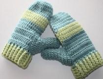 Crochet Mitten Patterns Simple How To Crochet Mittens Crochet And Knitting Patterns 2019